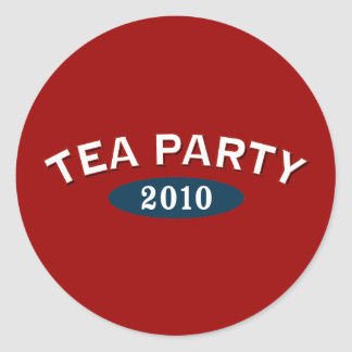 TEA Party Arc 2010 Round Stickers