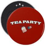 Tea Party Arc Pins