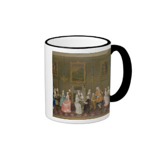 Tea Party at Lord Harrington s House St James s Coffee Mugs