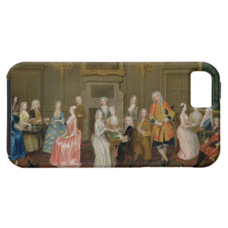 Tea Party at Lord Harrington's House, St. James's iPhone 5 Cases