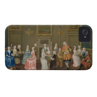 Tea Party at Lord Harrington's House, St. James's iPhone 4 Cover