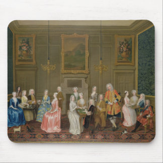 Tea Party at Lord Harrington's House, St. James's Mouse Pad