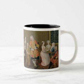 Tea Party at Lord Harrington's House, St. James's Mug