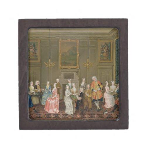 Tea Party at Lord Harrington's House, St. James's Premium Gift Box