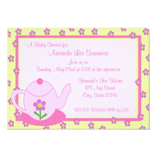 Tea Party/ Baby Shower Card