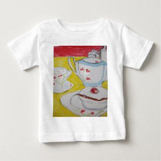 Tea Party Baby Tee Shirt