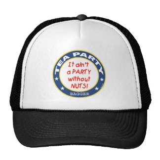 Tea Party Bagger Trucker Hat