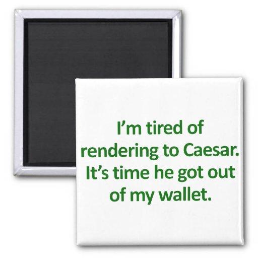 Tea Party Bible Verses: Paying Taxes Mark 12:17 Magnet