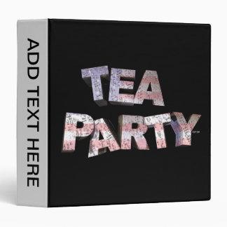 Tea Party Binder
