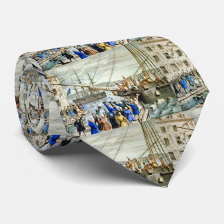 Tea Party Boston 1773 Neck Tie