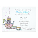 Tea Party - Bridal Shower - invitation