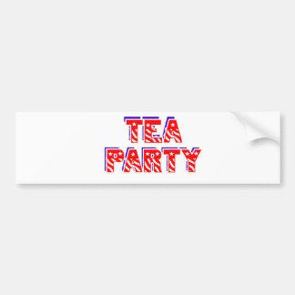 Tea Party Bumper Stickers