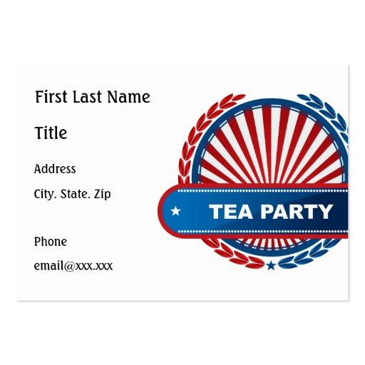 Tea Party Business Card