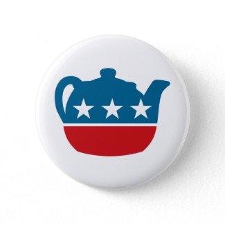 Tea Party! button