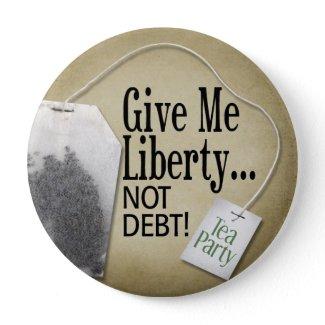 Tea Party Button button