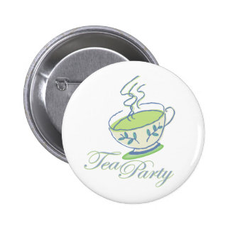 Tea Party Button