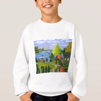 Tea Party By The Lake Sweatshirt