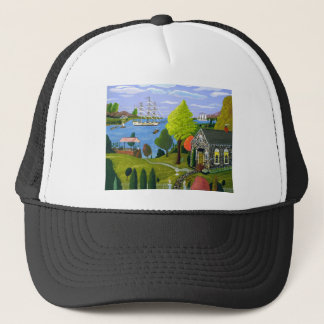 Tea Party By The Lake Trucker Hat