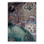 Tea Party by Trish Biddle Card