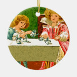 tea Party Christmas Ornaments