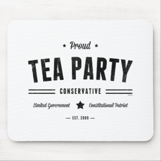 Tea Party Conservative Mouse Pad