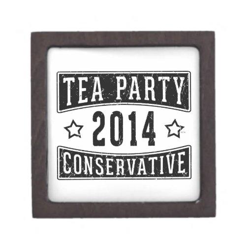 Tea Party Conservative Premium Jewelry Box