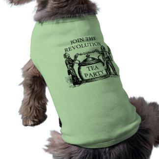 TEA PARTY DOG SHIRT