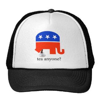 Tea Party Elephant Poop in Cup Trucker Hat