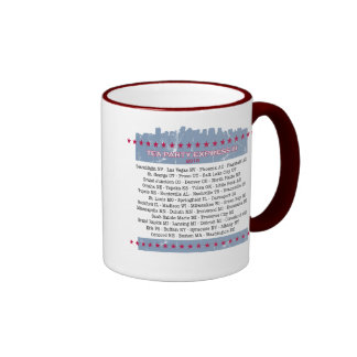 Tea Party Express City Tour Ringer Coffee Mug