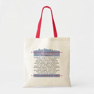 Tea Party Express City Tour Tote Bag
