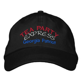 TEA PARTY EXPRESS - GEORGIA EMBROIDERED BASEBALL HAT