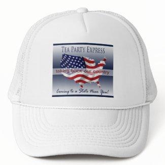 Tea Party Express Hat hat