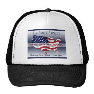 Tea Party Express Hat