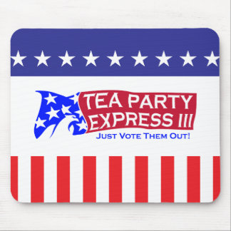 Tea Party Express III Mouse Pad