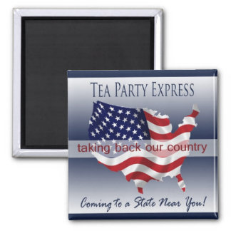 Tea Party Express Magnet