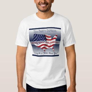 Tea Party Express Tee Shirt for Men