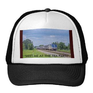 "TEA PARTY EXPRESS TRAIN 2012 AND BEYOND, ""MEET ... TRUCKER HAT"