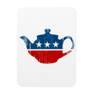 TEA PARTY - Faded png Magnet