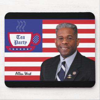 Tea Party Favorite Allen West Mouse Pad