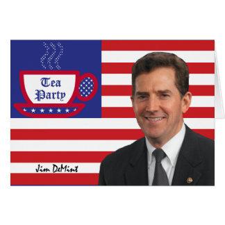 Tea Party Favorite Jim DeMint Card