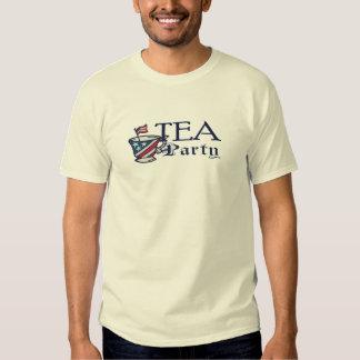 Tea Party Flag Political Protest T-Shirt