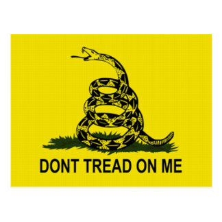 Tea Party Flag Postcard