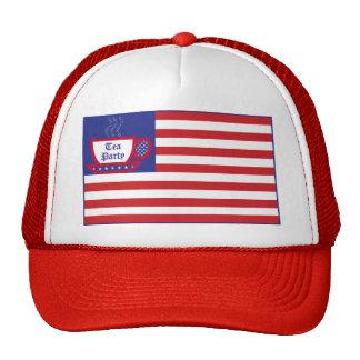 Tea Party Flag Trucker Hat