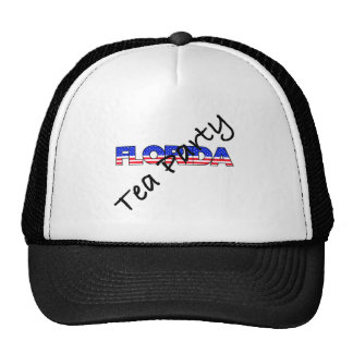 TEA PARTY FOR FLORIDA MESH HAT