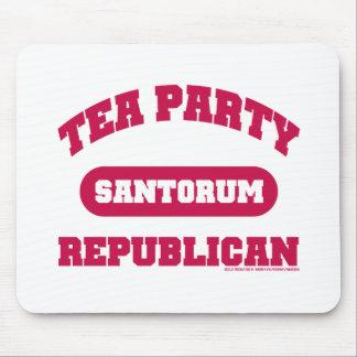 Tea Party for Santorum Mouse Pad