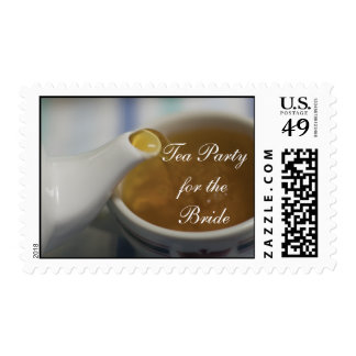 Tea Party for the Bride Postage