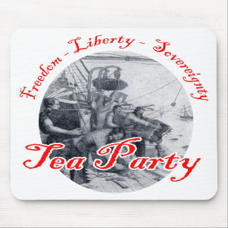 Tea Party - Freedom, Liberty, Sovereignty Mouse Pads