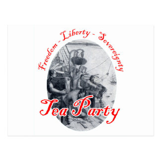 Tea Party - Freedom, Liberty, Sovereignty Postcard