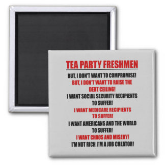 tea party freshmen magnets