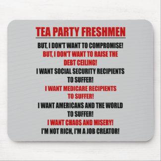 tea party freshmen mouse pad